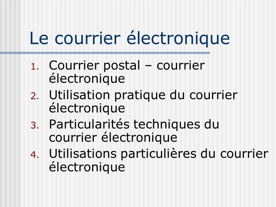 courrier électronique définition