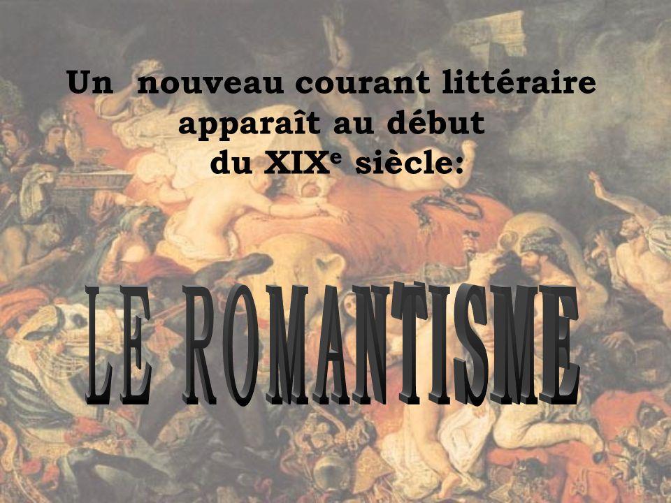 Littérature Romantique Écriture et littérature - ppt video online télécharger