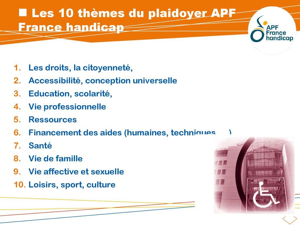 Présentation Apf France Handicap Ppt Télécharger