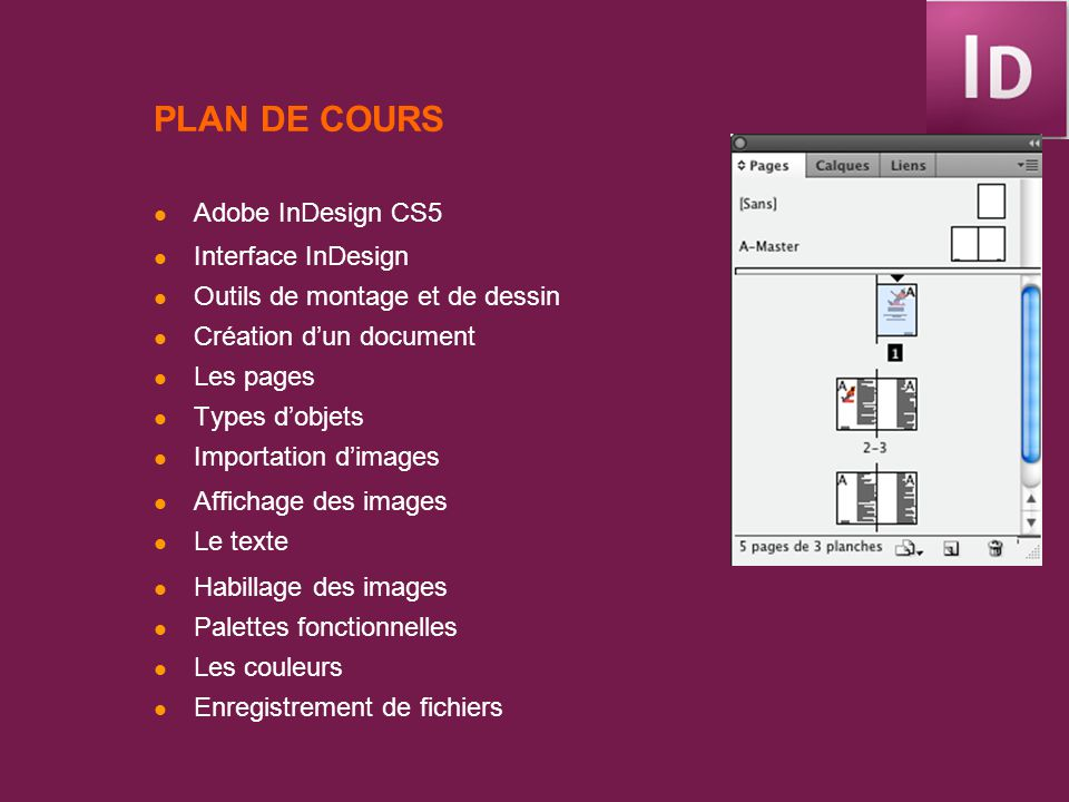 Indesign Cs5 1 Com 1560 Aude Dufresne Ppt Télécharger