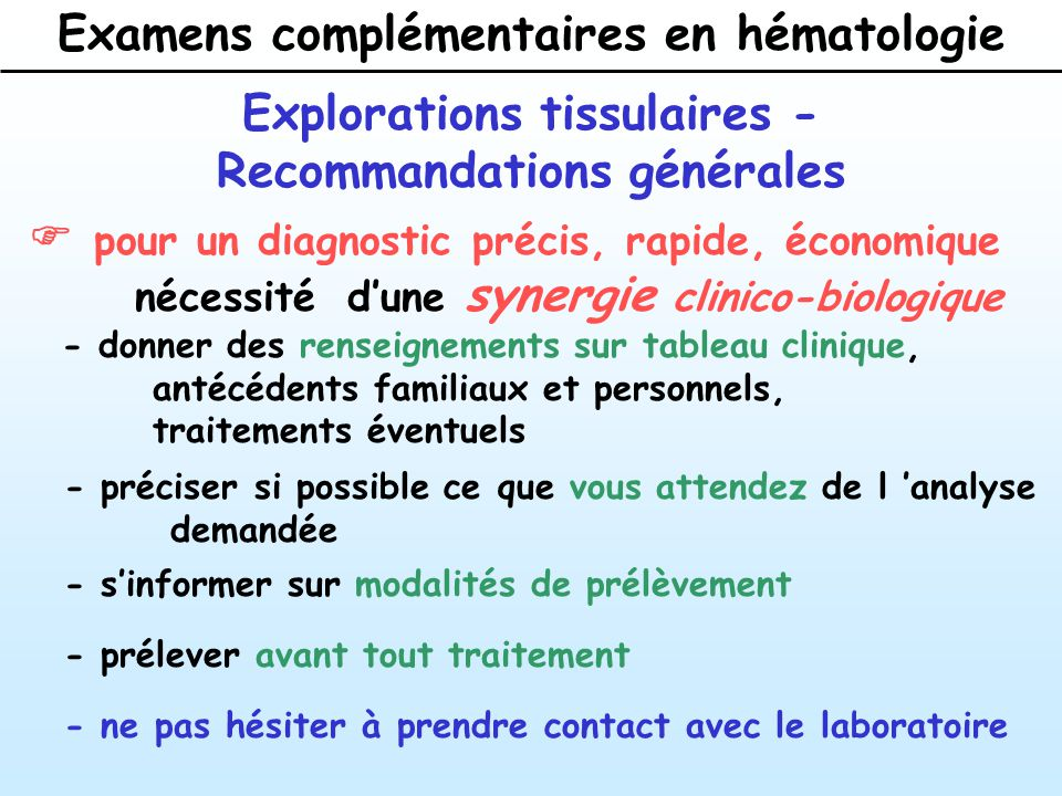 hematologie en pratique clinique guide diagnostic et traitement