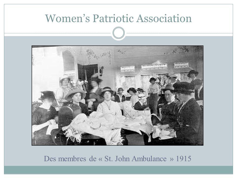 Women's Patriotic Association