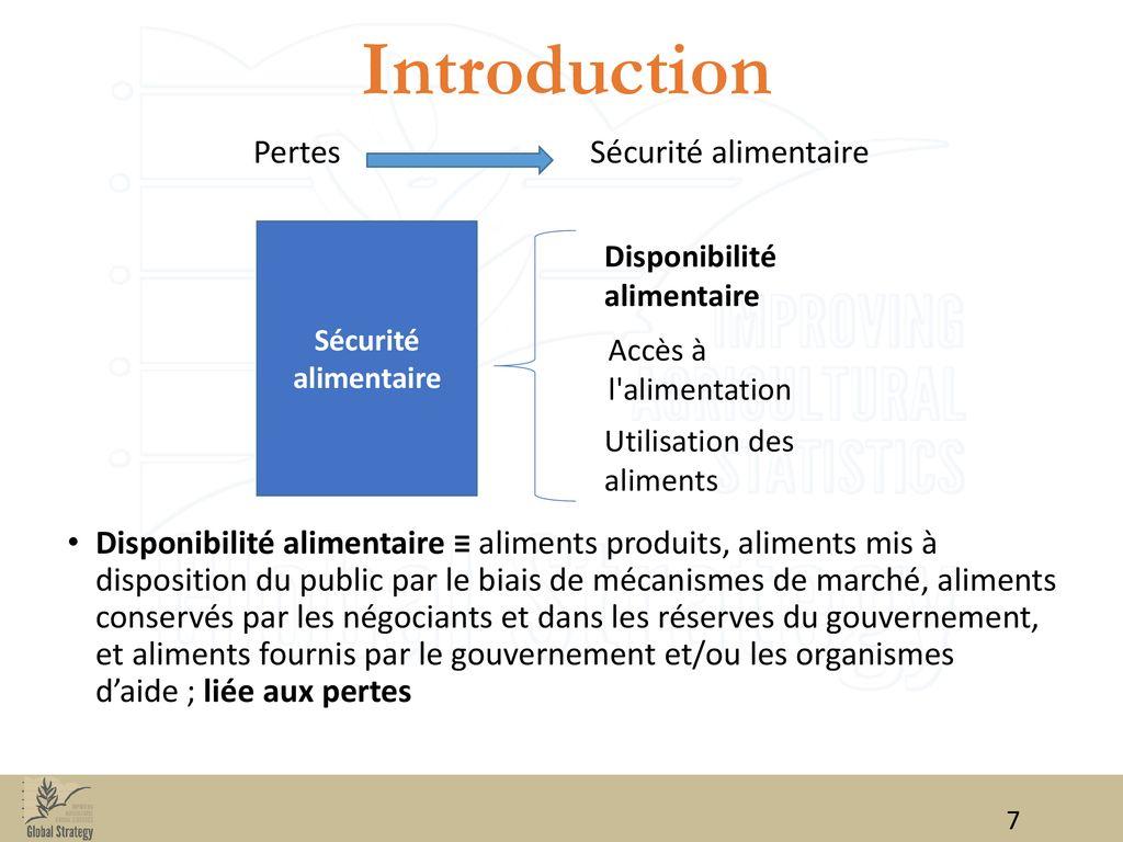 low priced 4d68a e4f51 Pertes Sécurité alimentaire. 8 Introduction