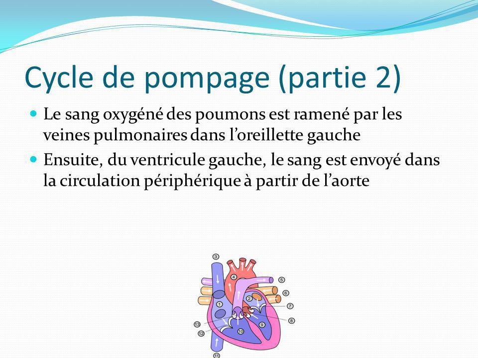 Cycle de pompage (partie 2)