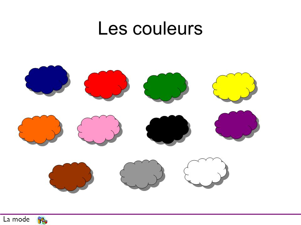 Les couleurs Review/ intro colours La mode
