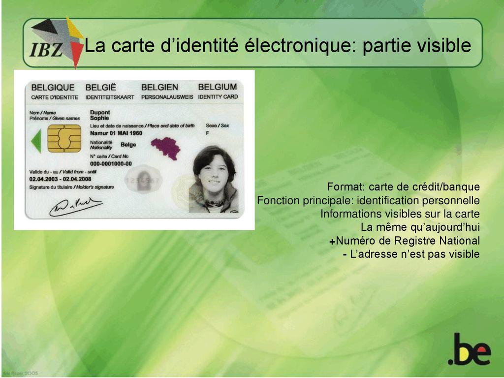 Le Registre National Une Experience Belge Ppt Telecharger