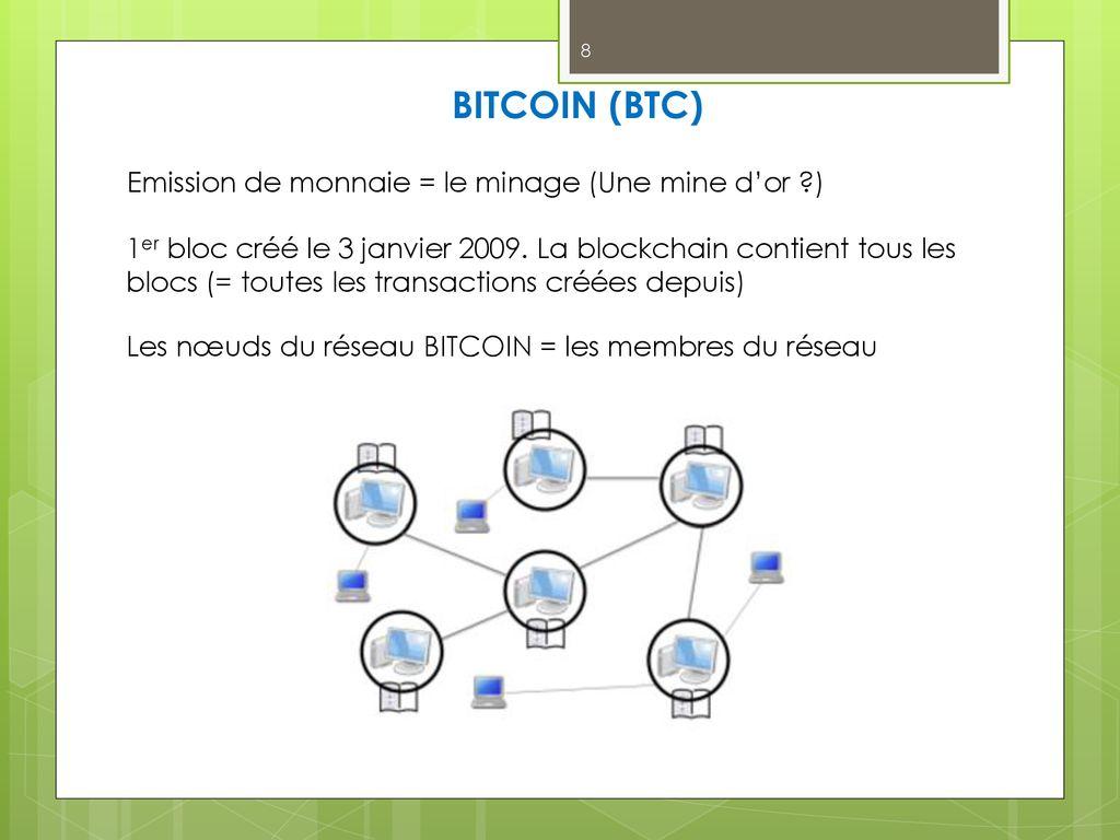 la tecnologia ppt bitcoin