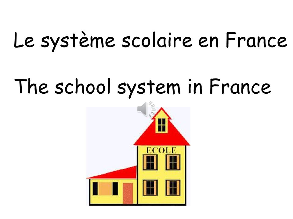 french essay school system French education system topics: gymnasium, school, education pages: 2 (573 words) published: october 19, 2012 introduction in france, education has a clear goal: the system must always produce a group of well-educated individuals with a common culture, language and abilities that can.