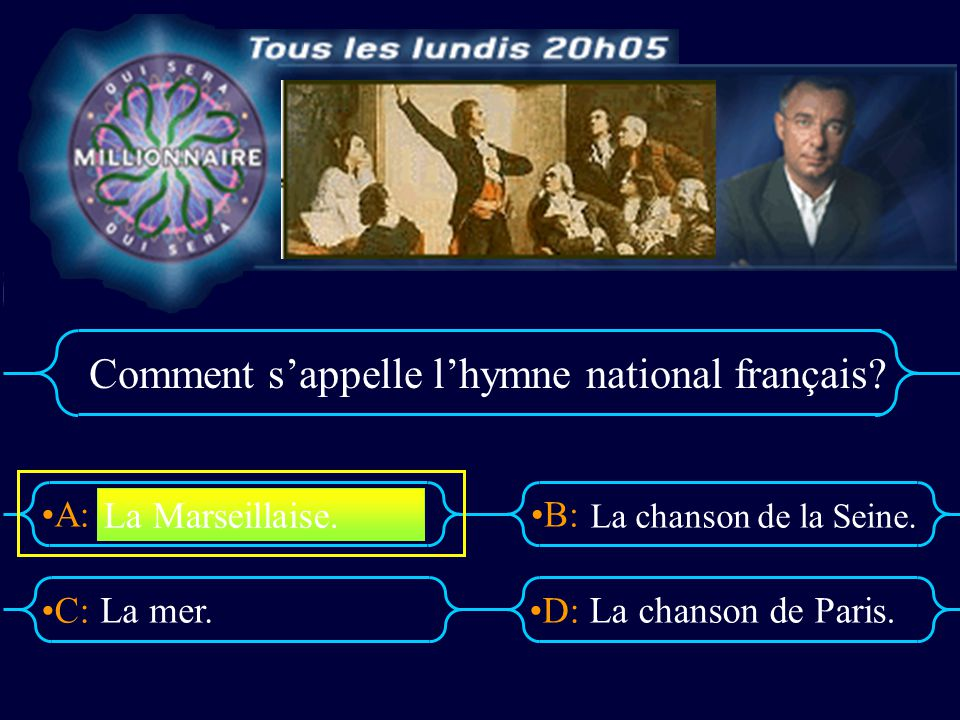 Comment s'appelle l'hymne national français