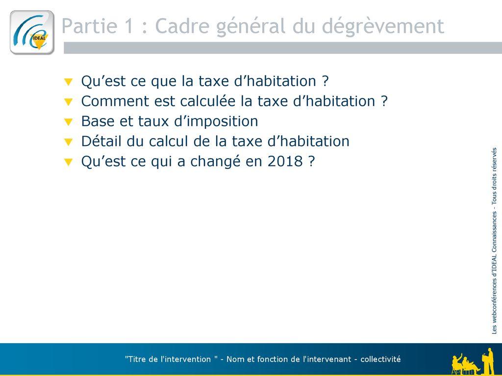 Disparition De La Taxe D Habitation Quelles Consequences