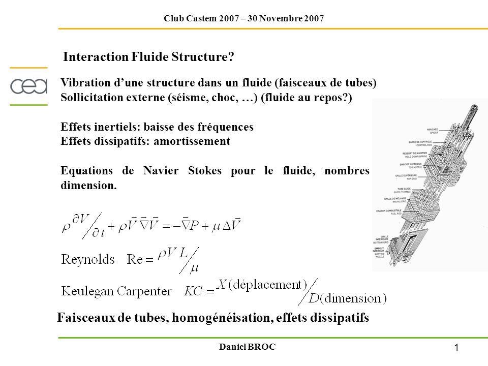 Interaction Fluide Structure