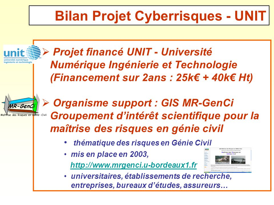 Rencontres universitaires de genie civil