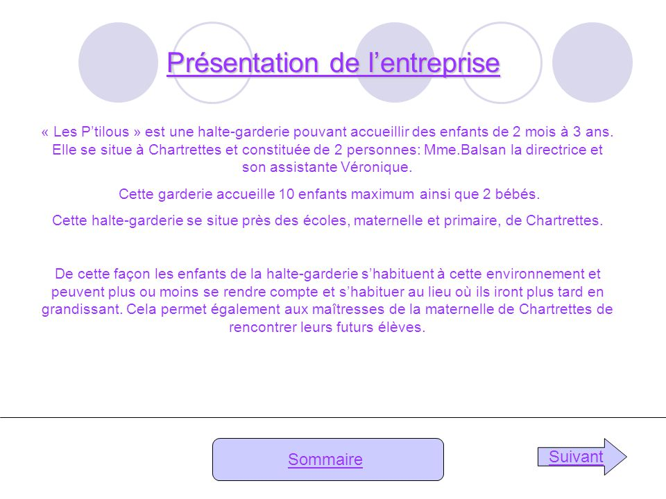 Amandine Fontaine 3 4 Rapport De Stage Les P Tilous Ppt Video