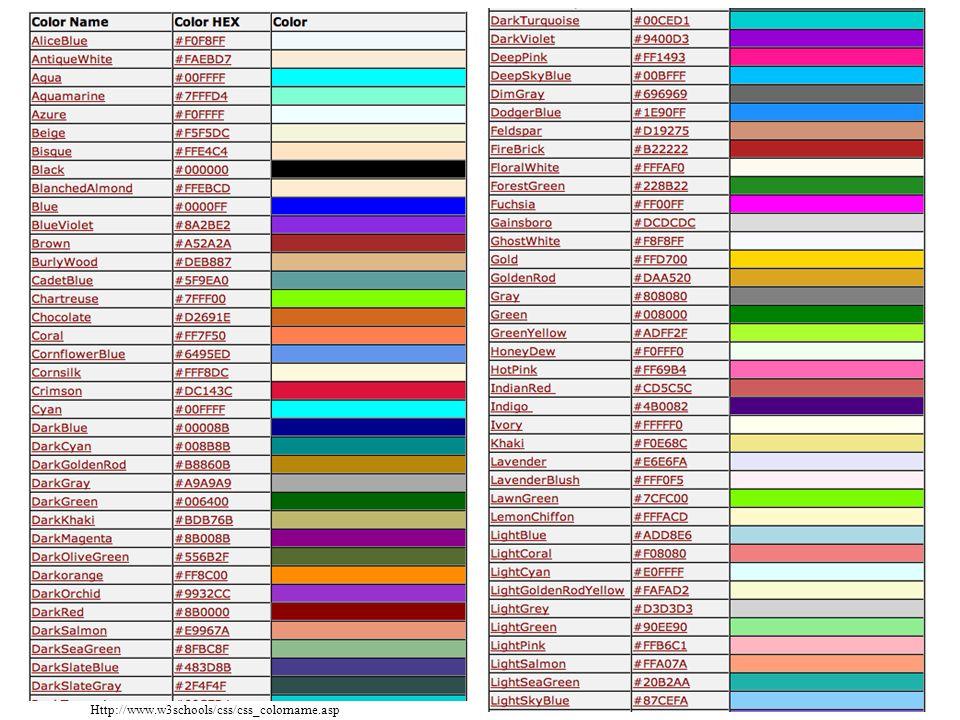 Namen color