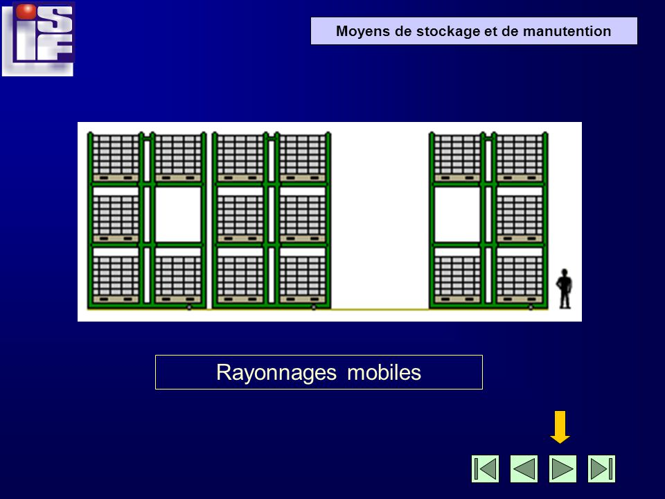 Rayonnages mobiles