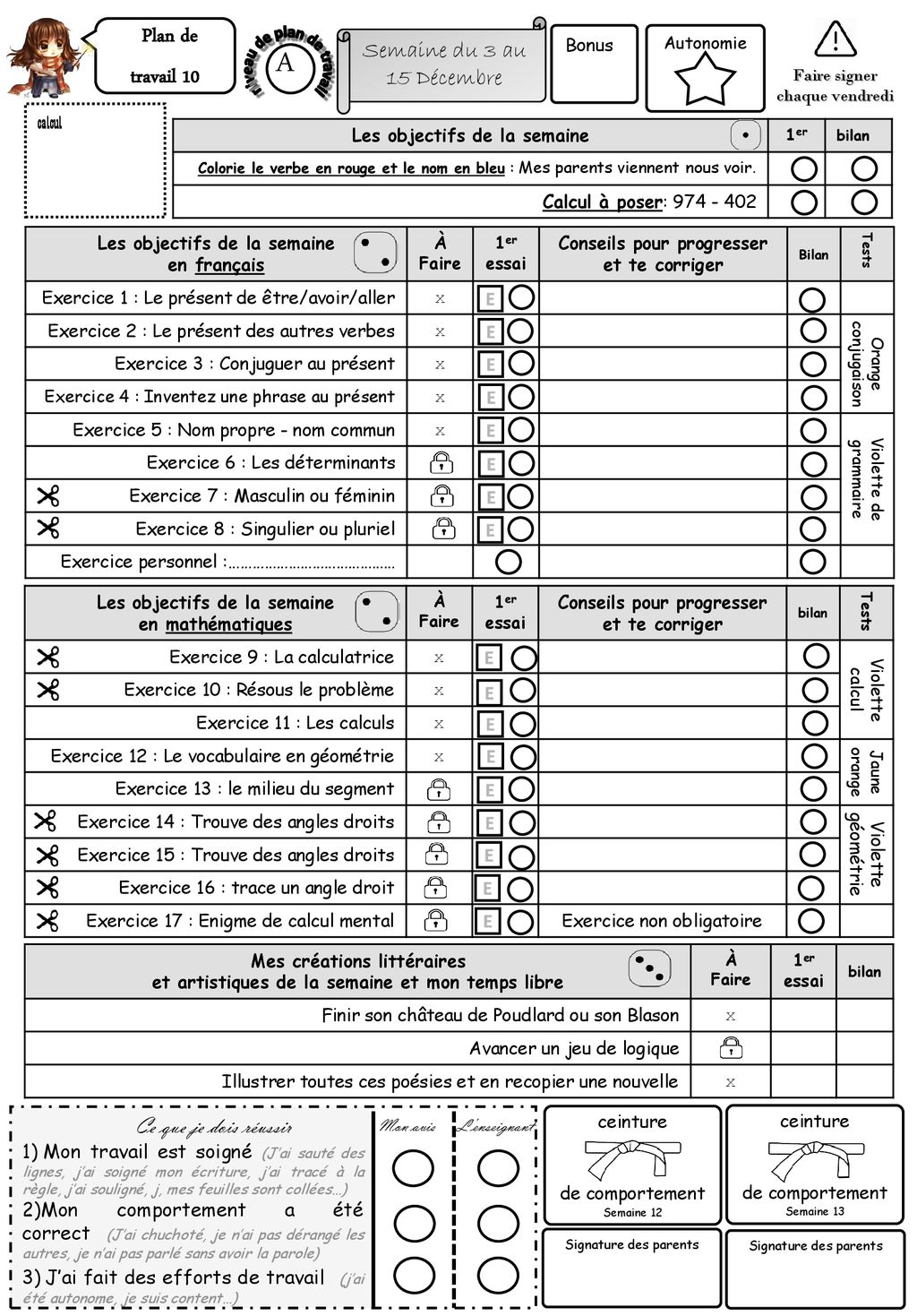 Plan De Travail 15 plan de travail 10 a semaine du 3 au 15 décembre - ppt