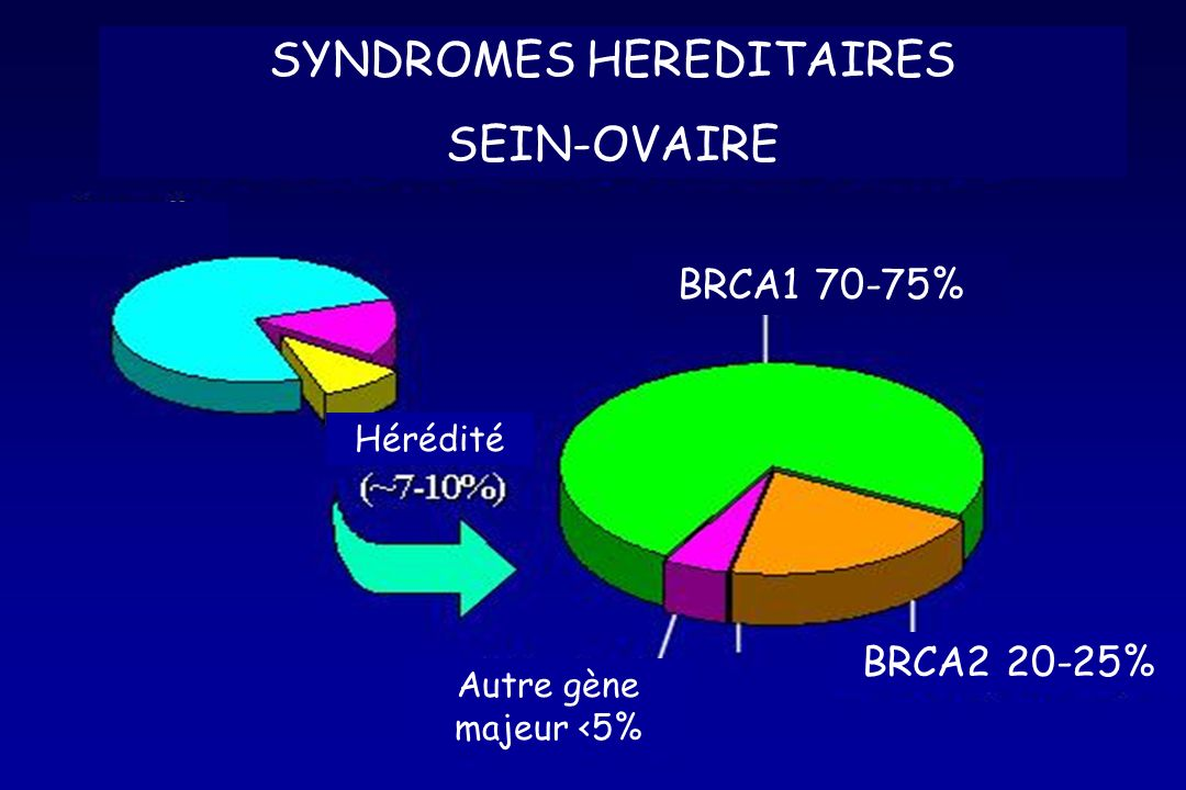 SYNDROMES HEREDITAIRES SEIN-OVAIRE