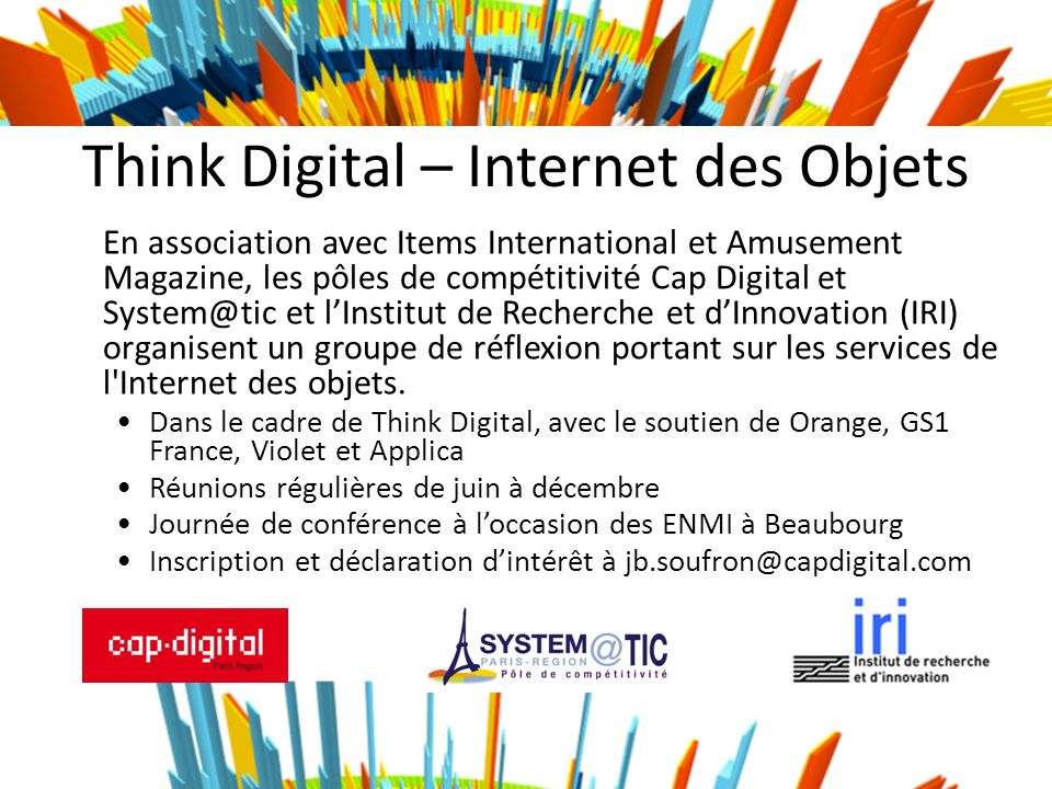 Think Digital – Internet des Objets