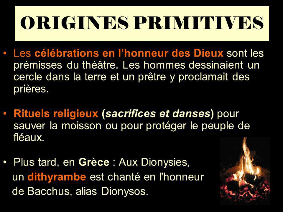 ORIGINES PRIMITIVES