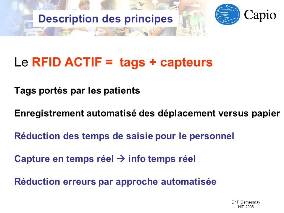 Description des principes