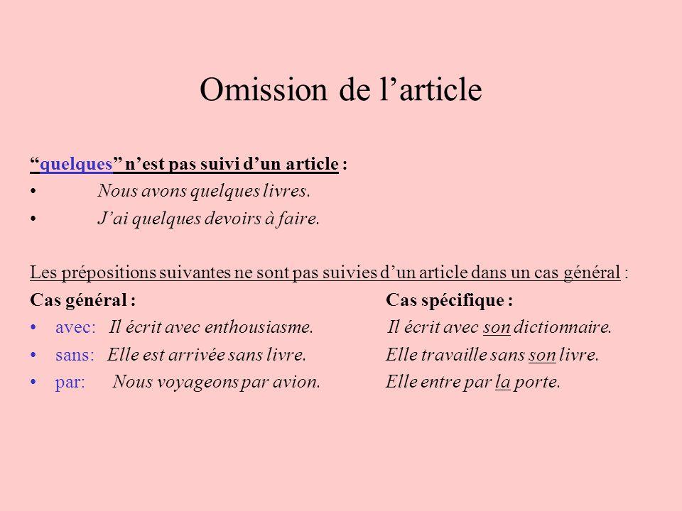 Opuszczanie rodzajnika - gramatyka 2 - Francuski przy kawie
