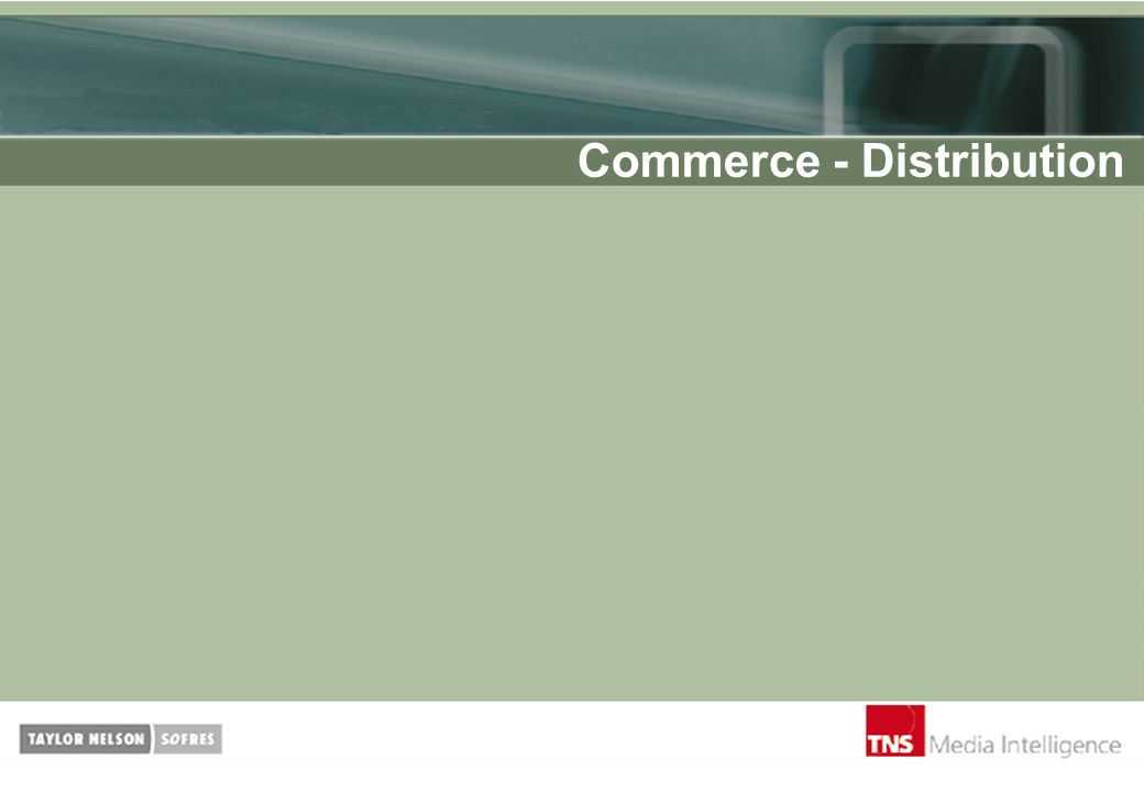 Commerce - Distribution