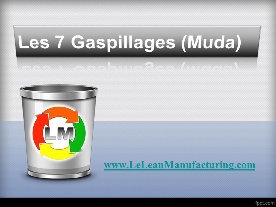 Les 7 Gaspillages (Muda)