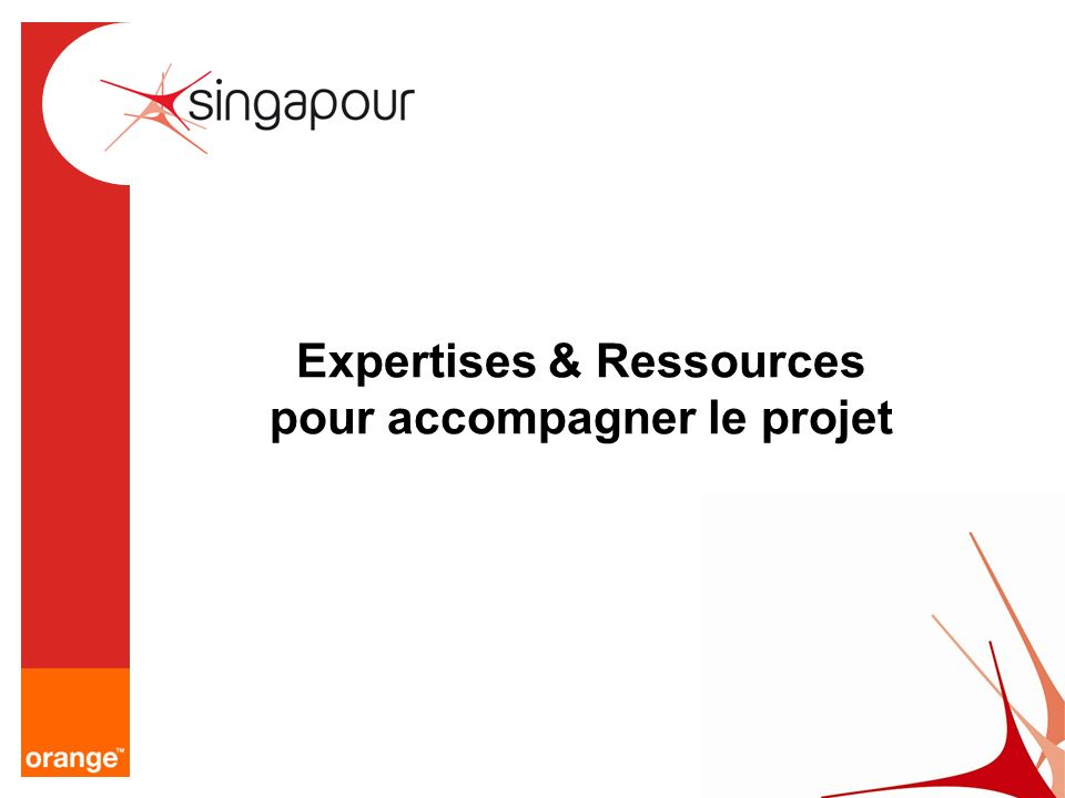 Expertises & Ressources pour accompagner le projet