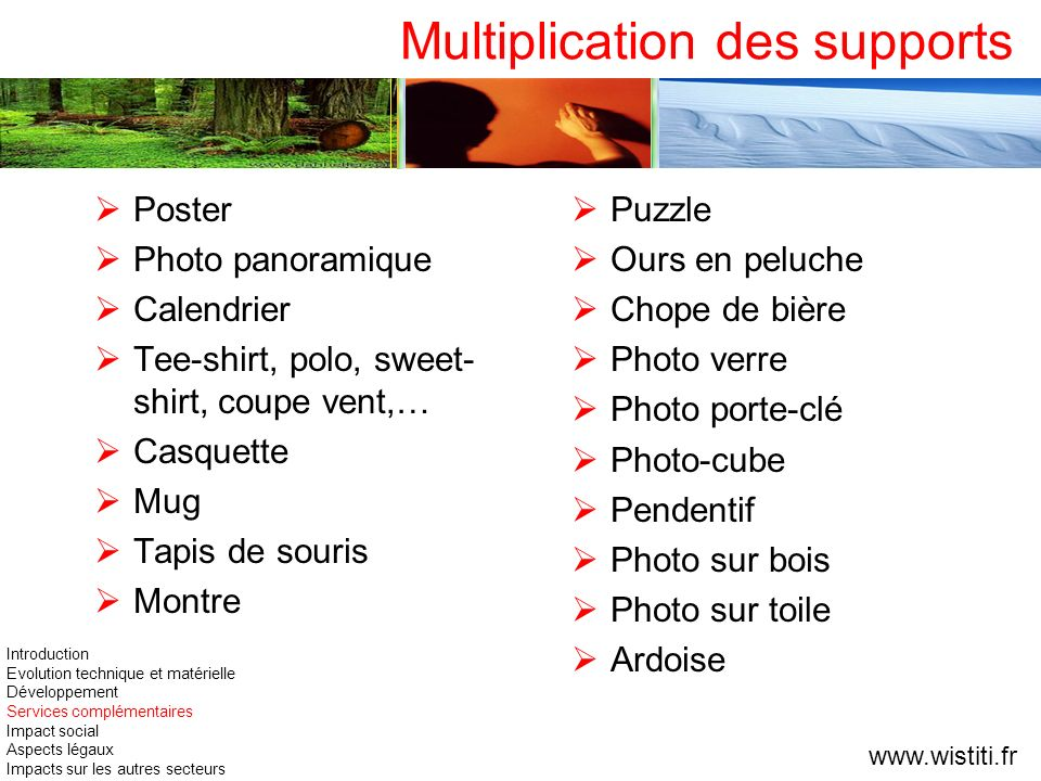 Multiplication des supports