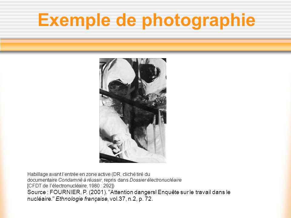 Exemple de photographie