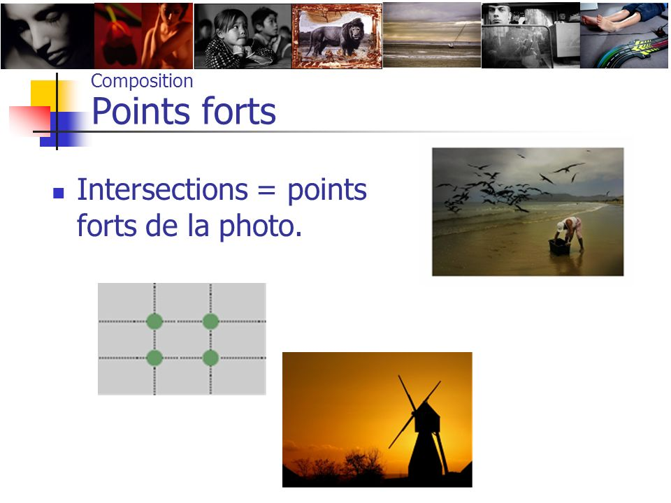 Composition Points forts