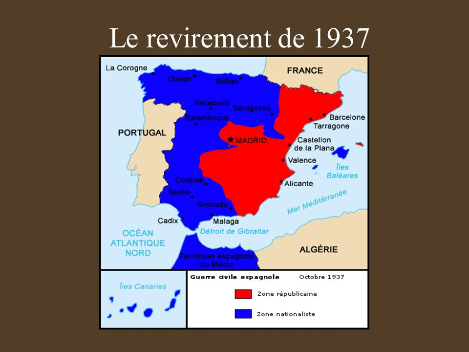 Le revirement de 1937