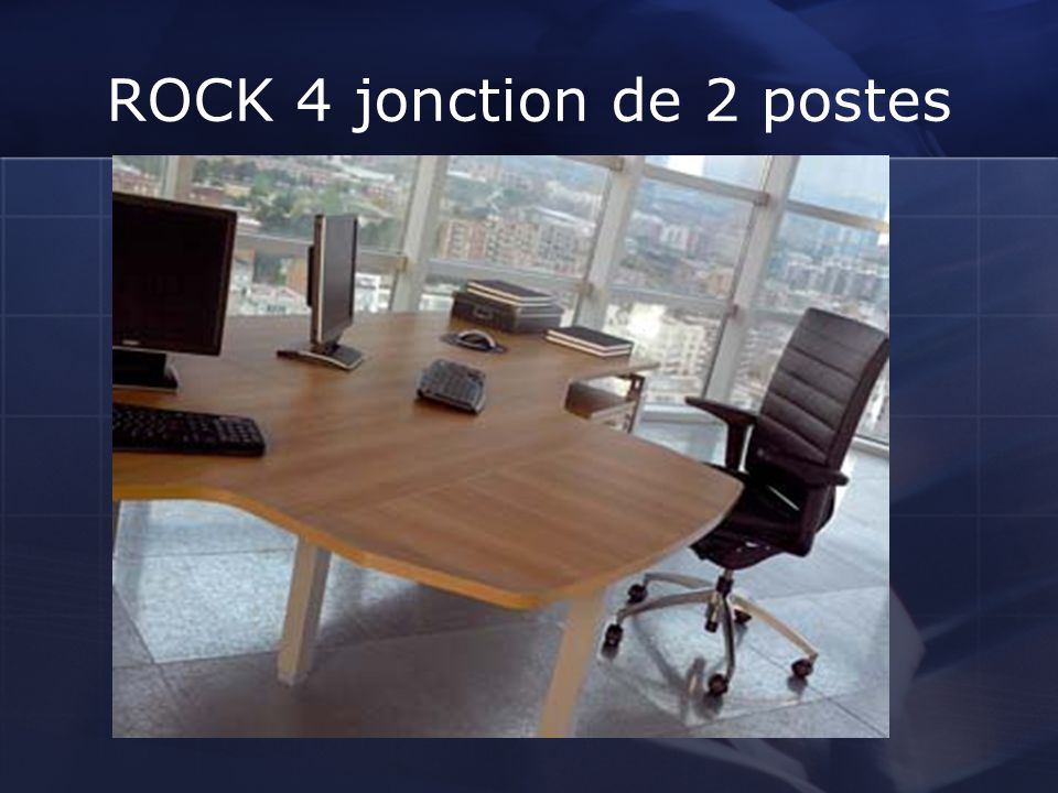 ROCK 4 jonction de 2 postes