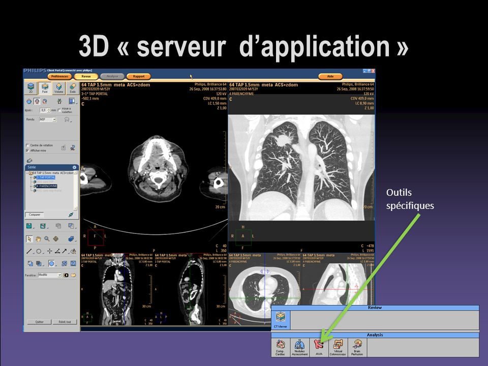 3D « serveur d'application »