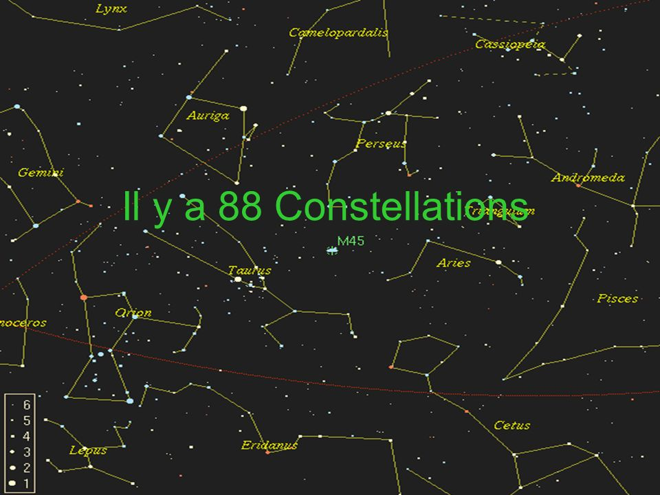 les 88 constellations
