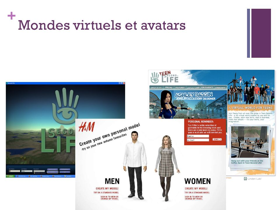 Mondes virtuels et avatars