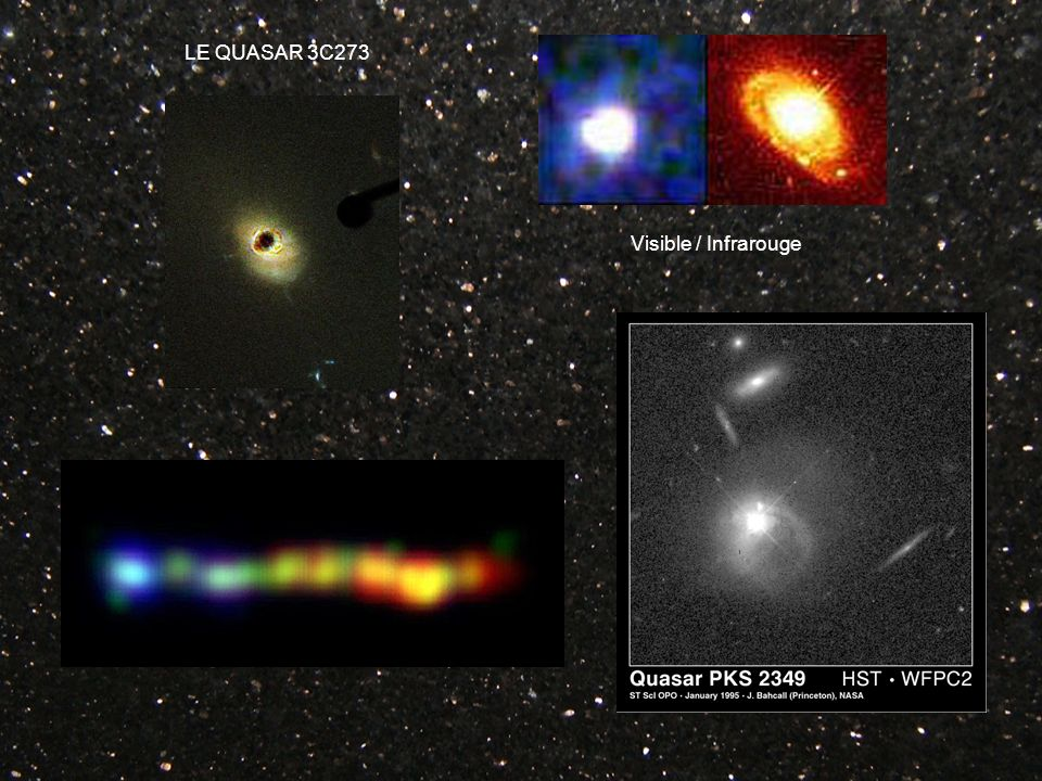 LE QUASAR 3C273 Visible / Infrarouge