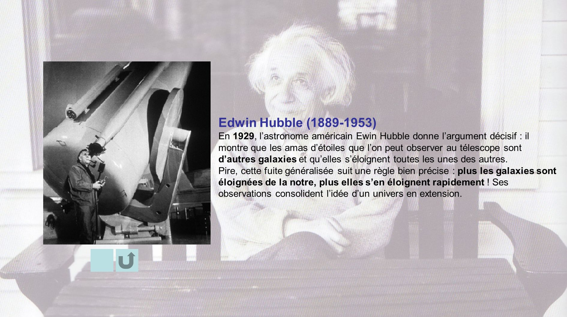 Edwin Hubble ( )