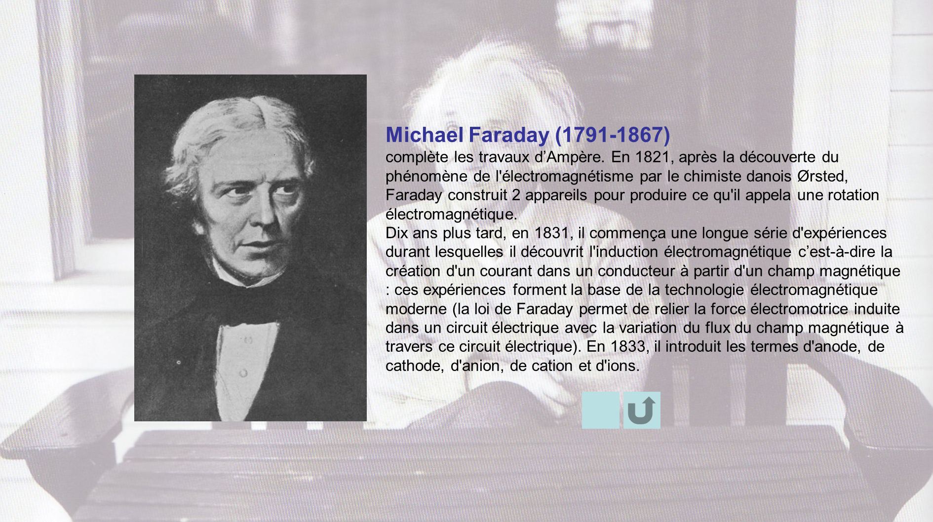 Michael Faraday ( )