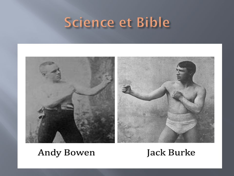 Science et Bible 111 rounds