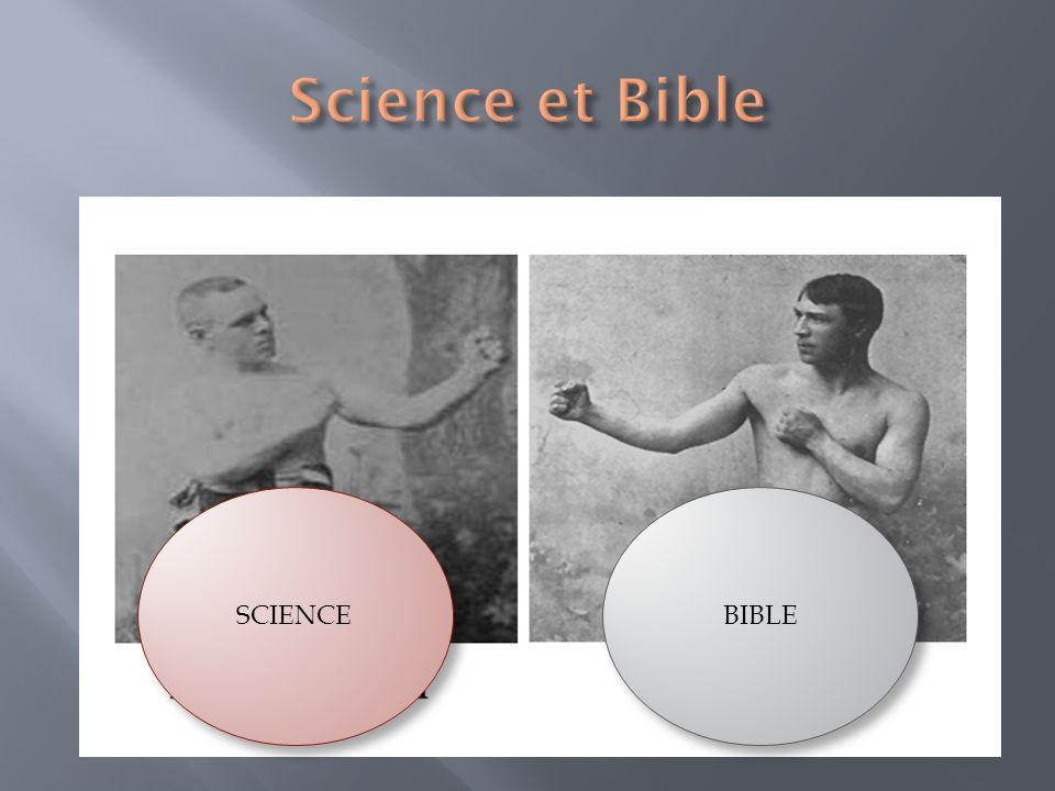 Science et Bible SCIENCE BIBLE