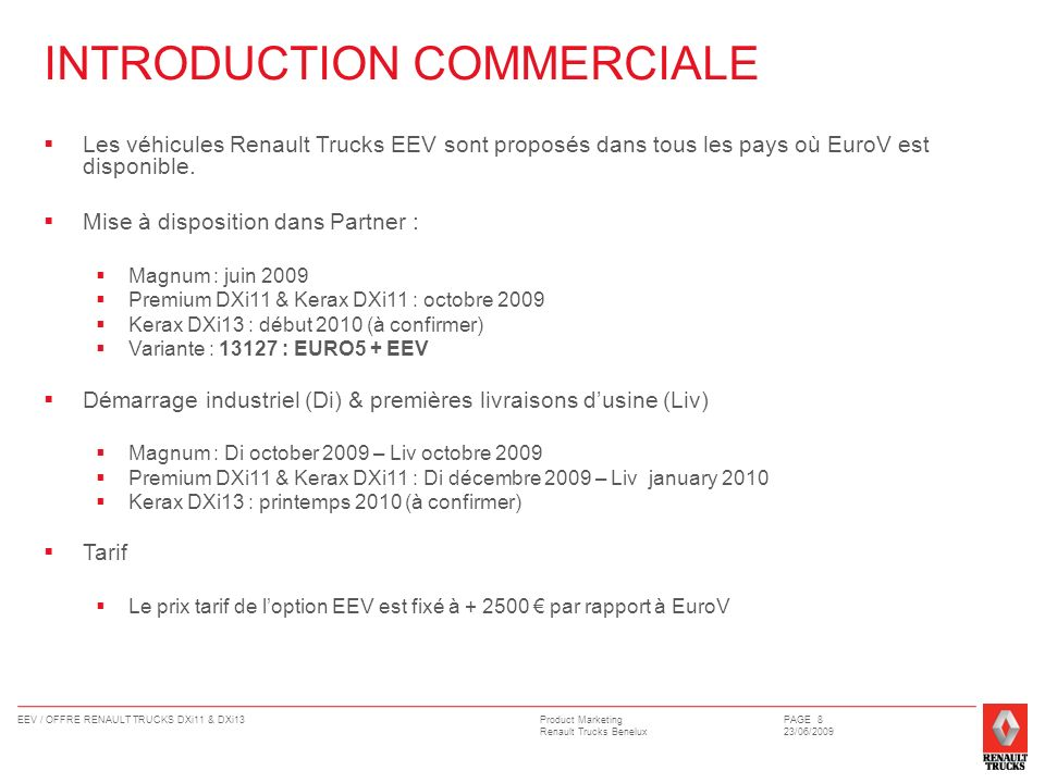 INTRODUCTION COMMERCIALE