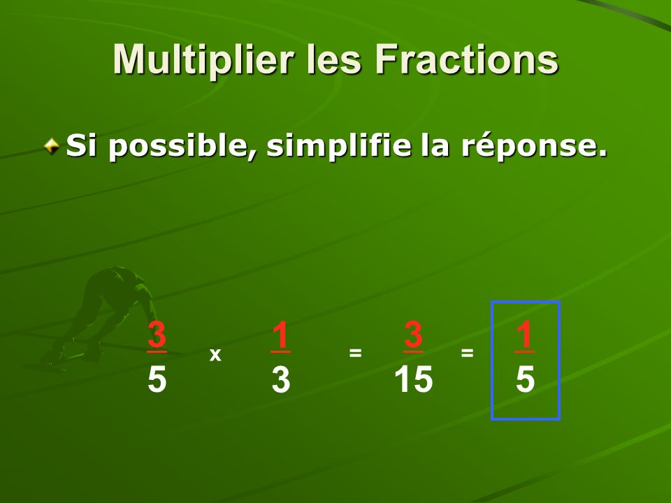 Multiplier les Fractions
