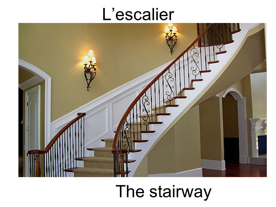 L'escalier The stairway