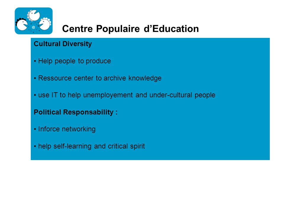 Centre Populaire d'Education