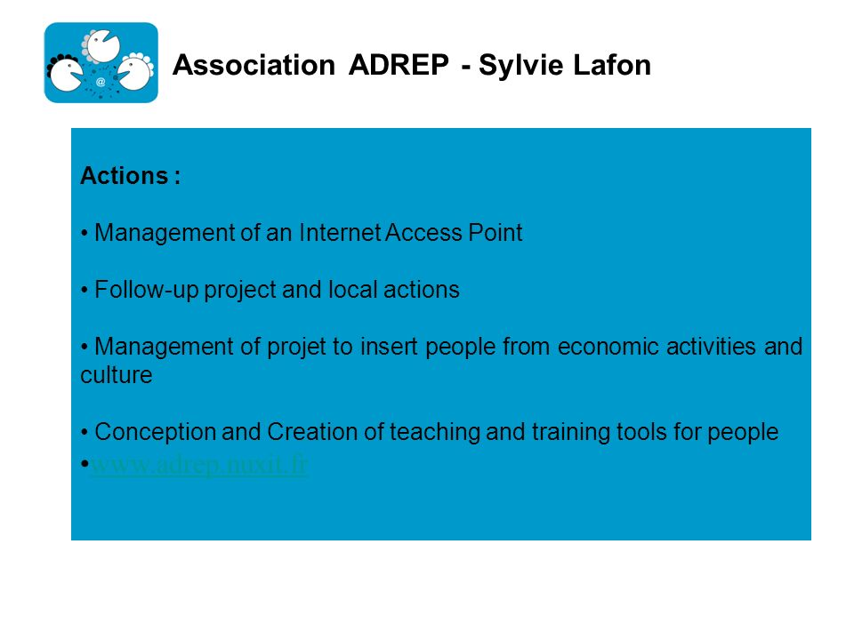 Association ADREP - Sylvie Lafon