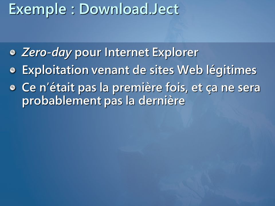 Exemple : Download.Ject