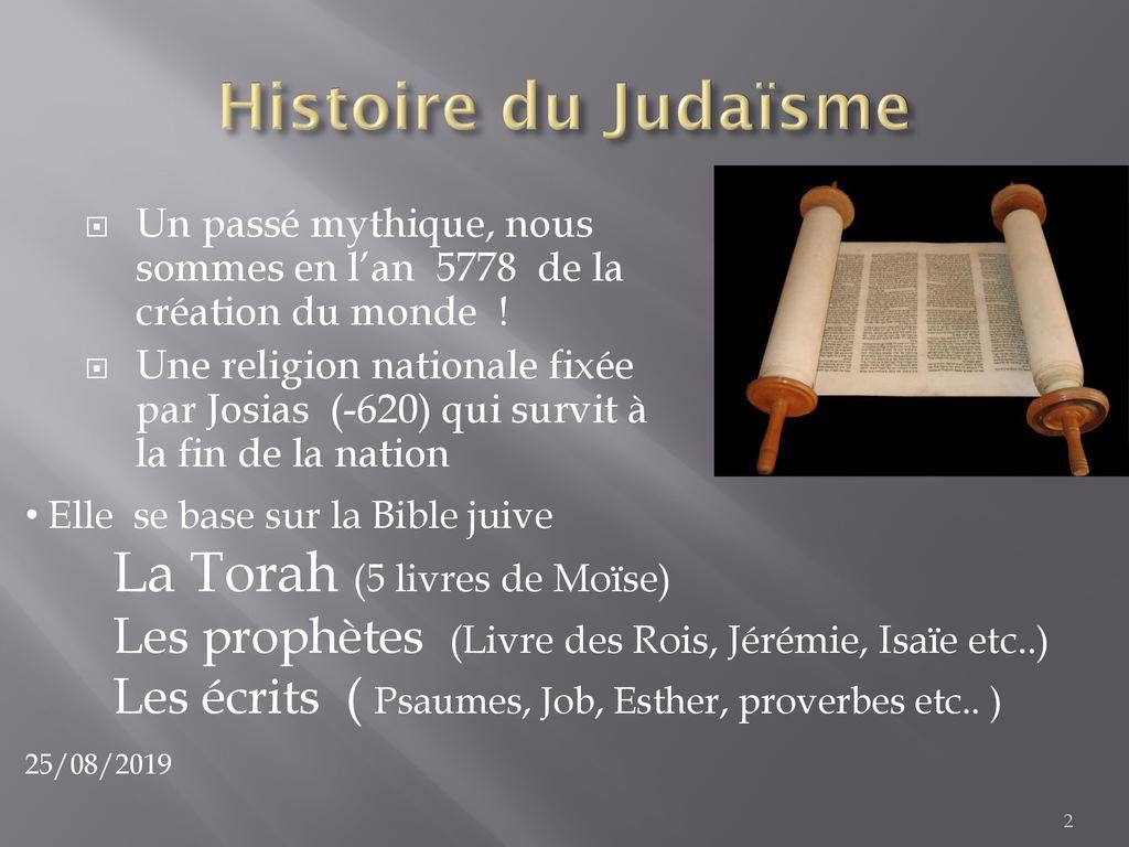 Calendrier Hebraique 5778.Le Judaisme En Quelques Mots Ppt Telecharger