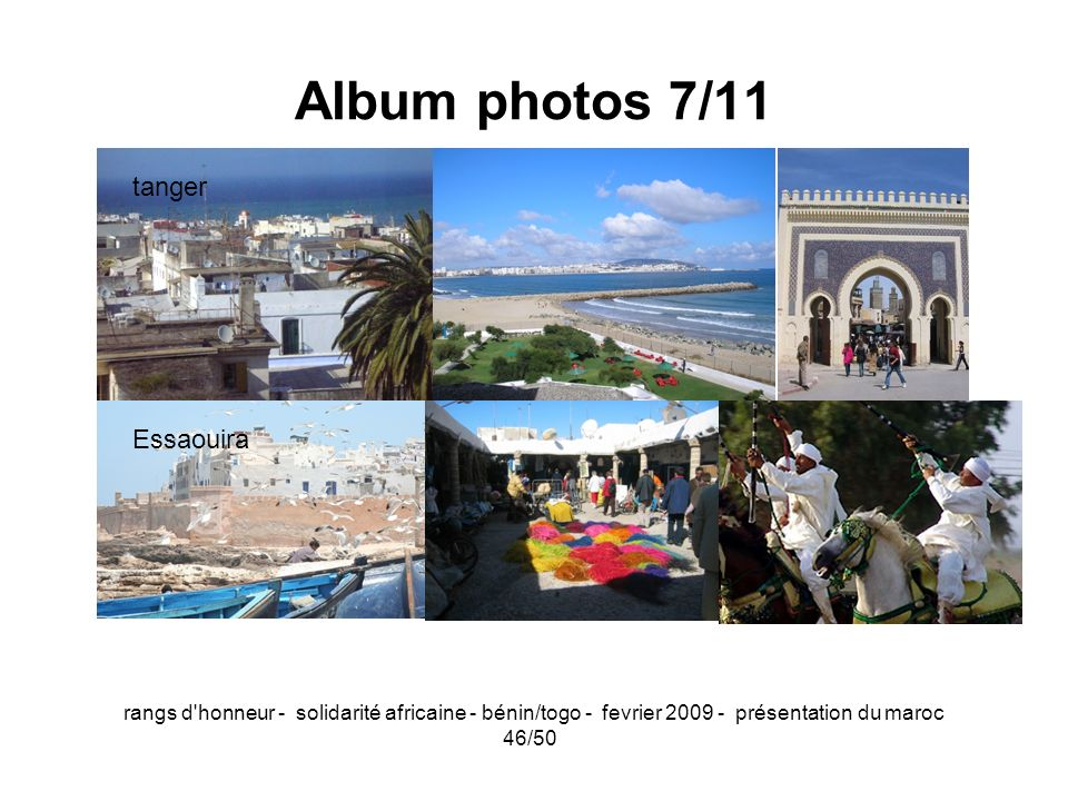 Album photos 7/11 tanger Essaouira