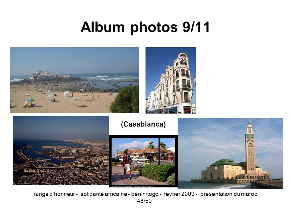 Album photos 9/11 (Casablanca)